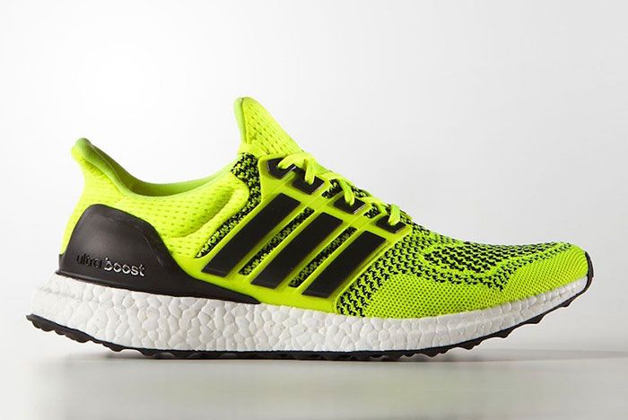 Adidas Ultra Boost 1 0 Solar Yellow S77414 2019 Release Date 1 Side