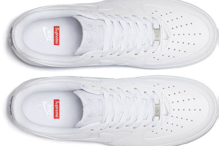 Supreme Nike Air Force 1 Low White 2020 Release Date 1