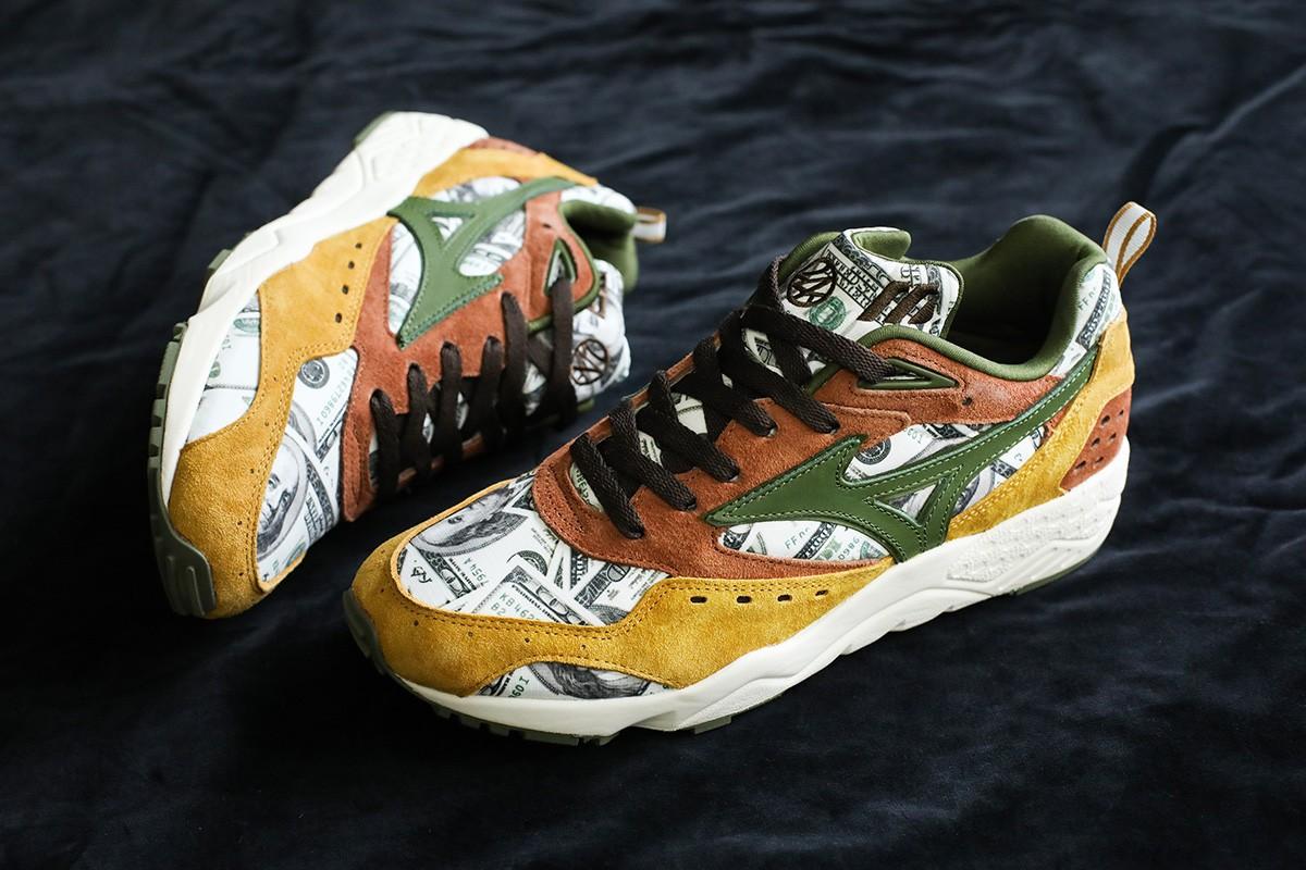 24karats x mita sneakers x Mizuno Contender