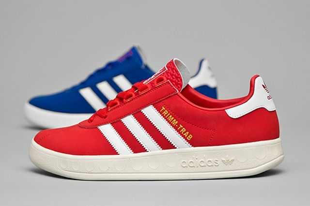 Adidas Trimm Tab Red And Blue 1