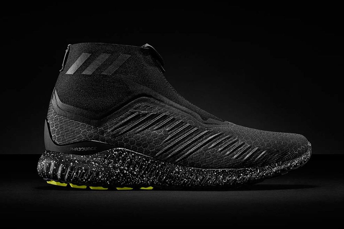 Adidas Alphabounce Mid Zip Black 4