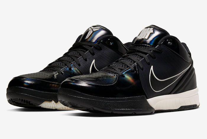 Nike Kobe 4 Protro Black Mamba Toe Left