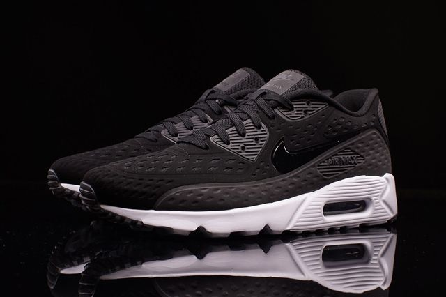 Nike Am90 Ultra Br Black White 1