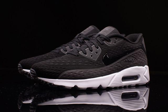 Nike Am90 Ultra Br Black White 1