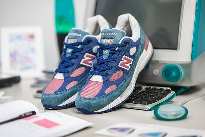 New Balance M992Nt Blue Front