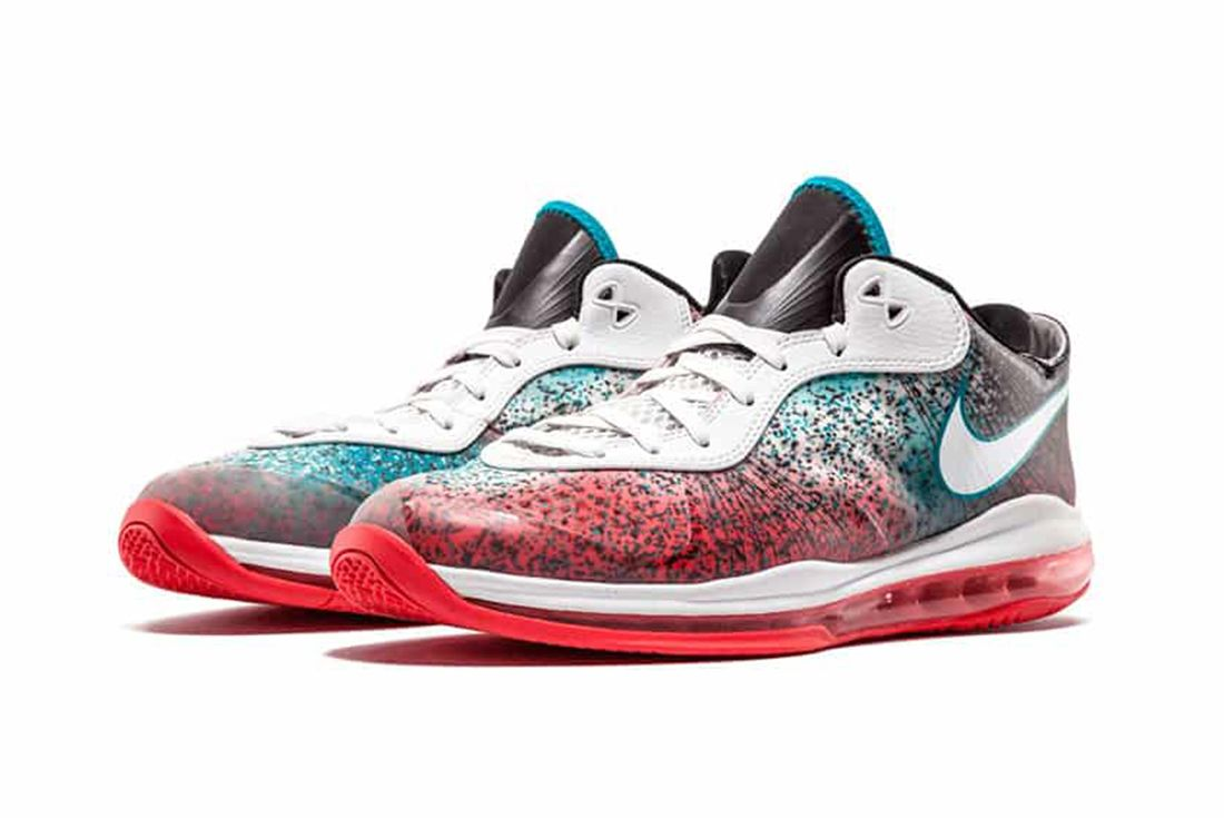 "Nike LeBron 8 V2 Low ""Miami Nights"" pair"