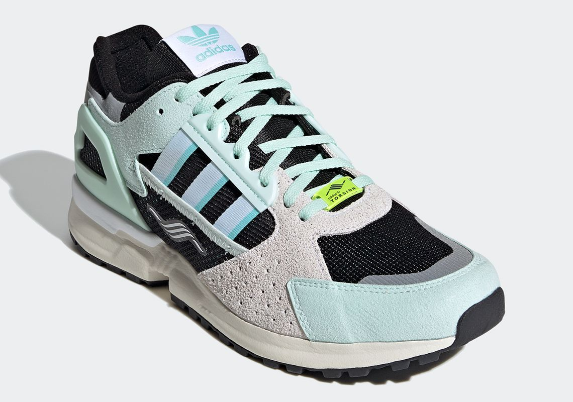 adidas ZX 10.000C Mint Green Angled