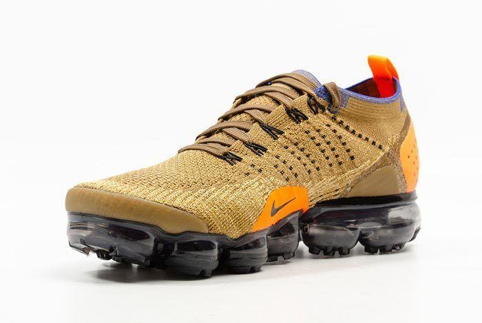 Nike Air Vapormax Flyknit Golden Beige 3