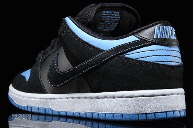 Nike Sb Dunk Low Pro Black University Blue White Available Now 3