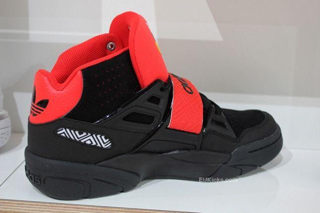 Adidas Mutombo Tr Block First Look Black Heel Quarter 1