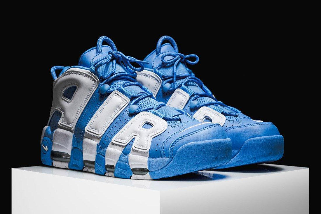 Nike Air More Uptempo University Blue 4
