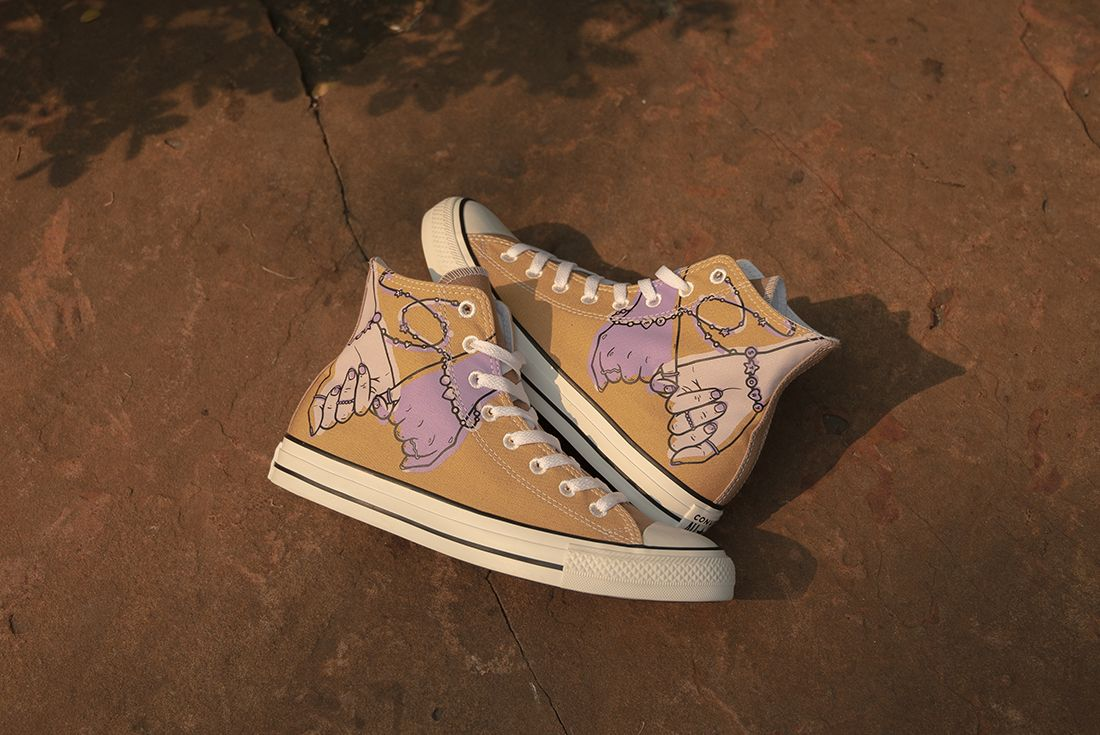 Millie Bobby Brown x Converse By You