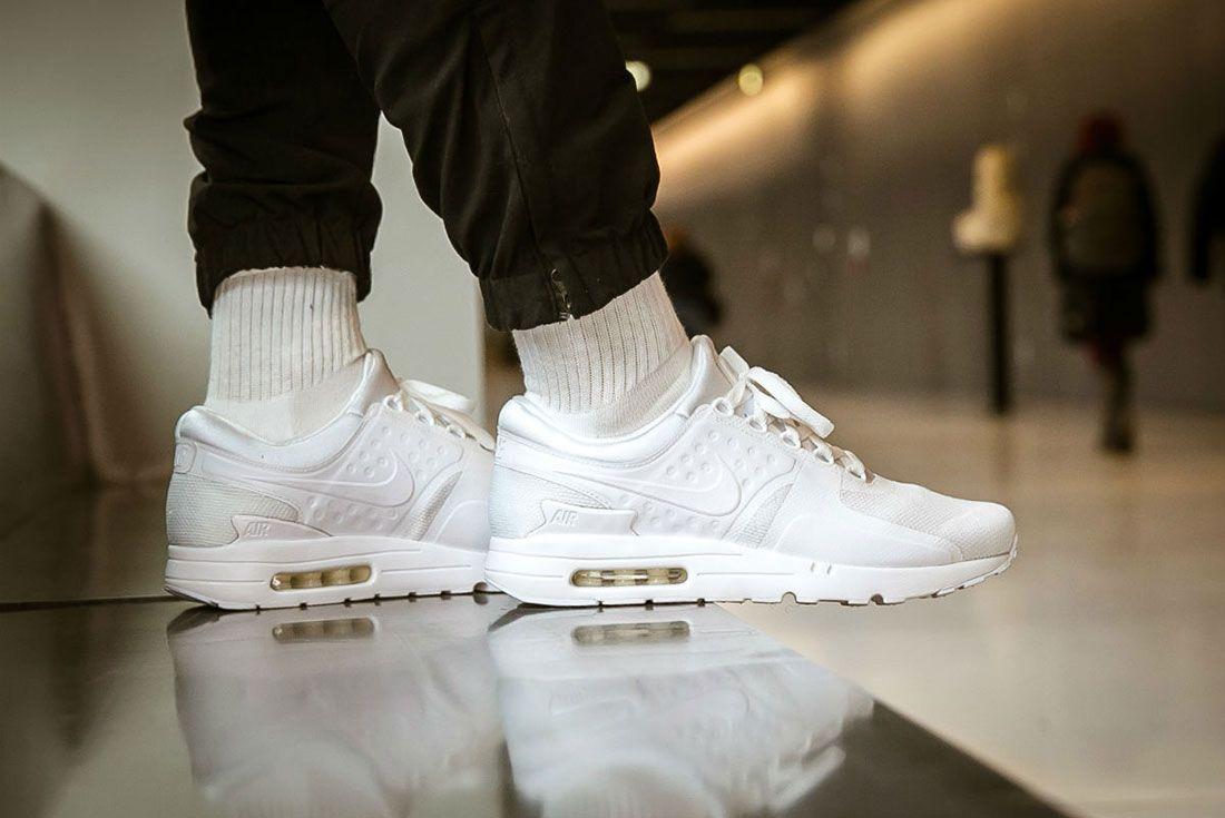 Nike Air Max Zero Triple White 3