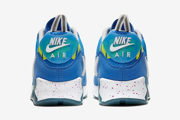 Undefeated Nike Air Max 90 Pacific Blue Cq2289 400 Release Date 3 Official