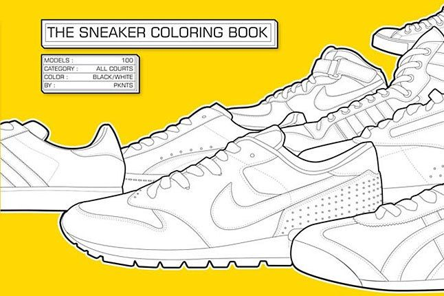 The Sneaker Book Cover 1