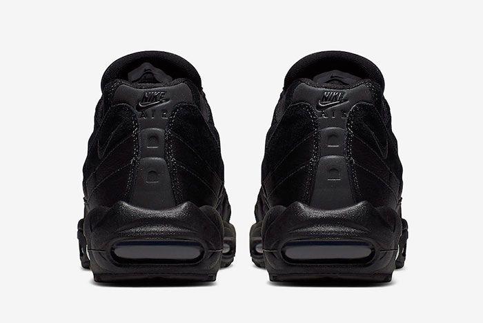 Nike Air Max 95 Essential Triple Black At9865 001 Release Date 5Heel
