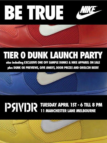Provider Melbourne Dunk Tier 0 Launch 1