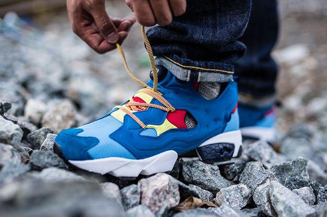 Packer Shoes X Reebok Insta Pump Fury Aztec2