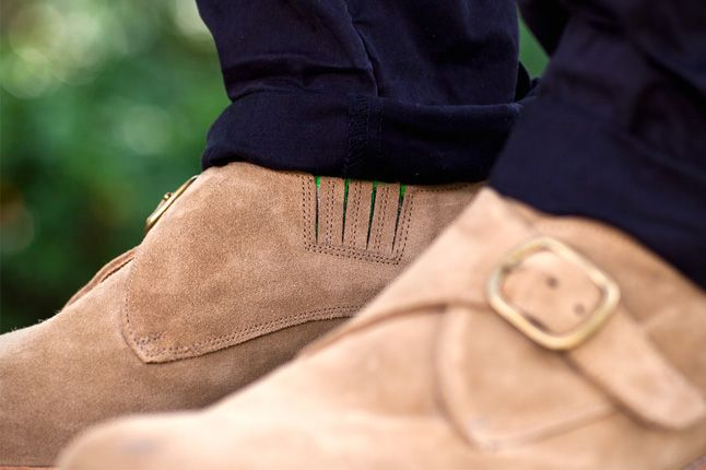Garbstorexgrenson 2012 Fall Winter Monk Shoe Mushroom Pair Details 1