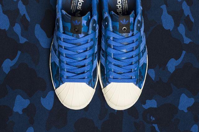 Bape X Undftd X Adidas Consortium Superstar 80 8