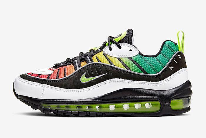 Olivia Kim Nike Air Max 98 Ck3309 001 Release Date Side