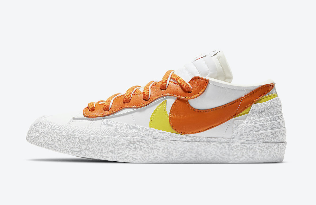 sacai Nike Blazer Low Magma Orange