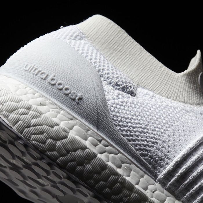 Adidas Ultra Boost Laceless White Beige3