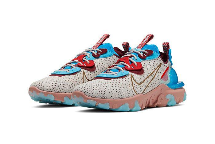 Nike React Vision Desert Oasis Toe