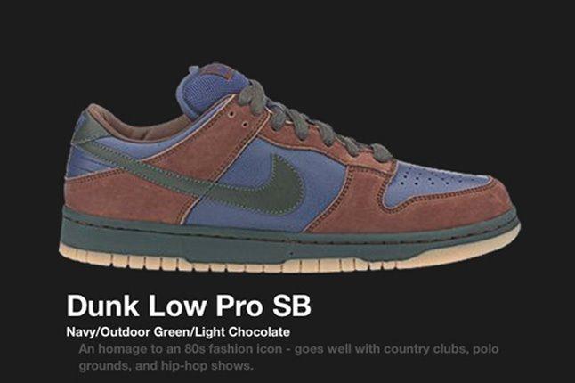 Nike Dunk Sb Navy Outdoorgreen 2003 2