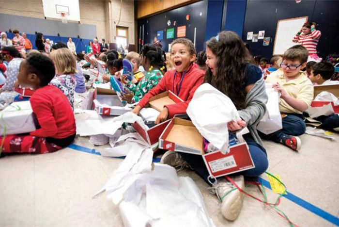 Anonymous Donor Gifts An Entire School With Free Sneakers Sneaker Freaker 1
