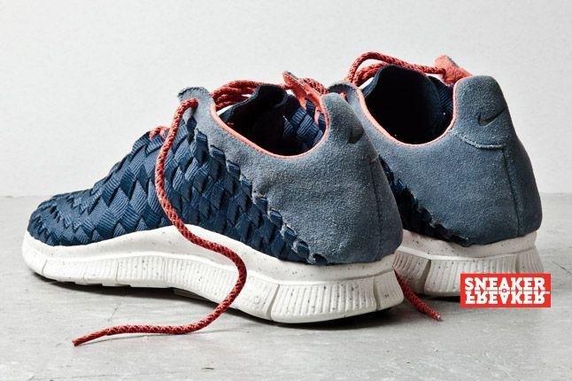 Nike Free Inneva Woven Armory Navy 3 2