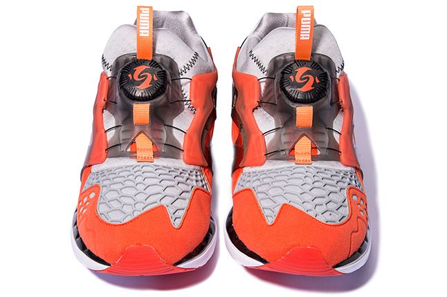 Puma Disc Blaze Ltwt Web Orange Front 1