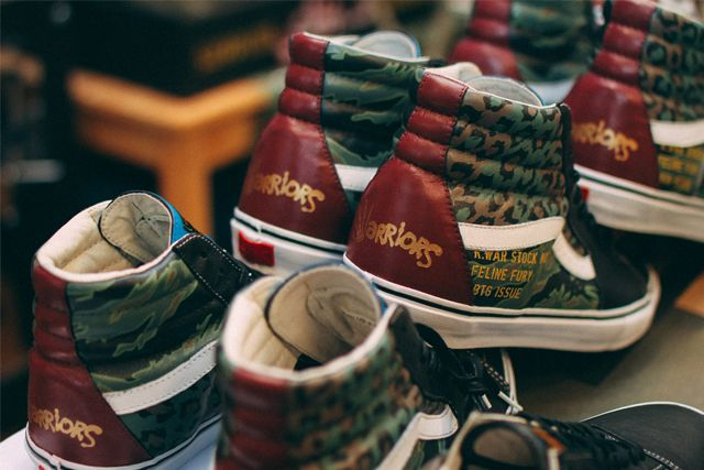 Sbtg X Kadir Warriors Vans Pack 12