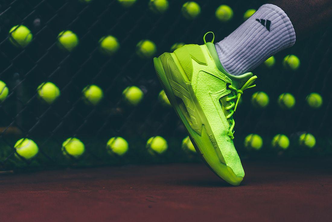 Adidas D Lillard 2 Tennis Ball5