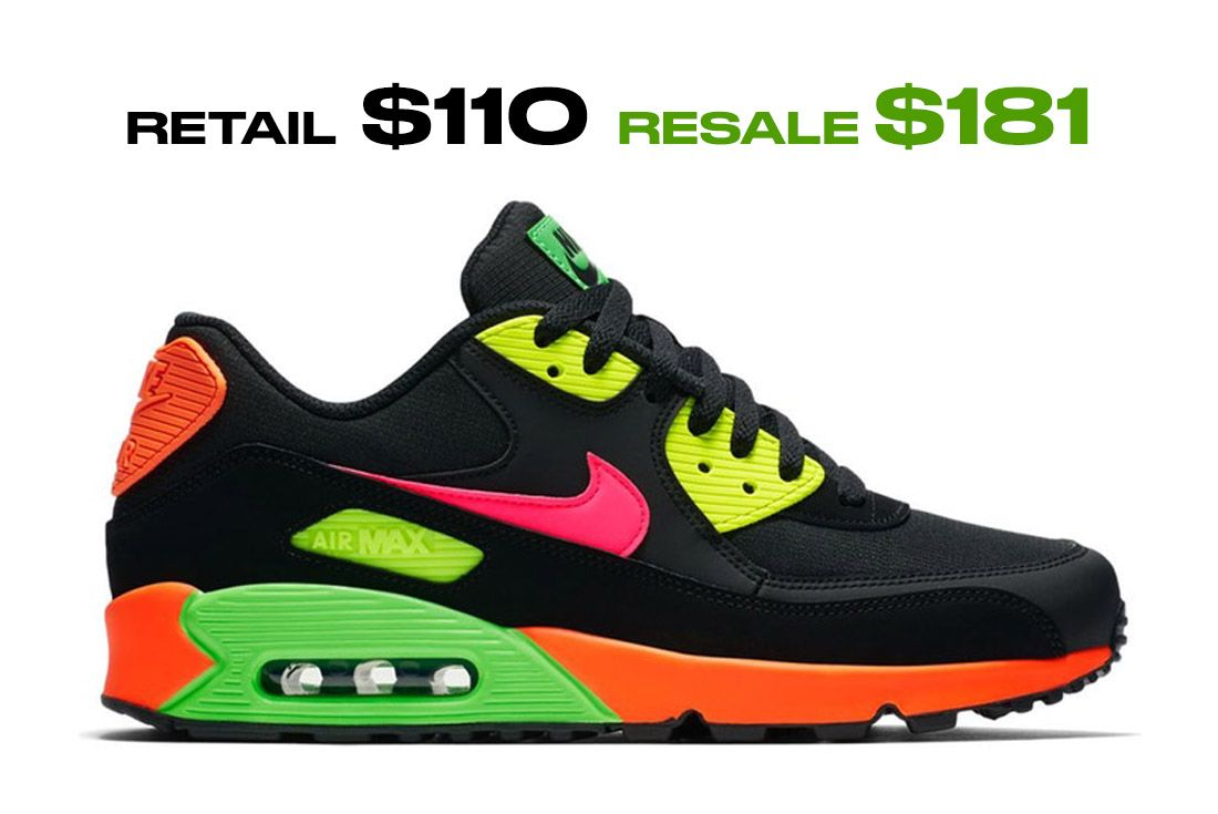 Air Max 90 Tokyo Neon Right Side Shot