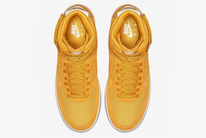 Nike Air Force 1 Hi Suede Pink Blue Yellow 10 Sneaker Freaker