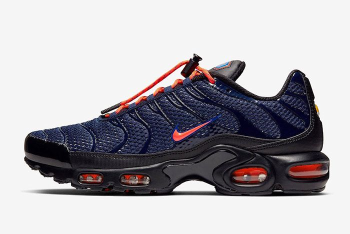 Nike Air Max Plus Toggle Navy Left