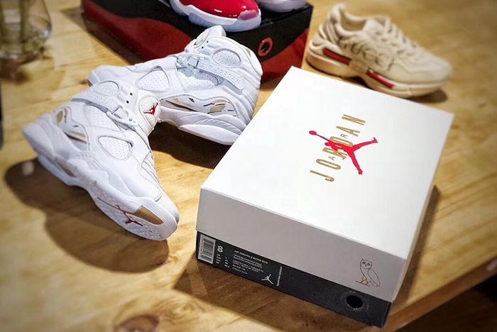 Drake X Air Jordan 8 Ovo Sneaker Freaker 5