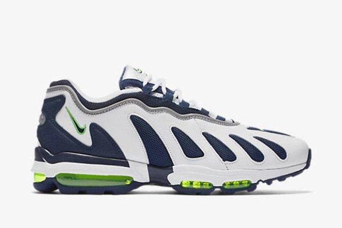 Nike Air Max 96 White Obsidian Scream Green 4