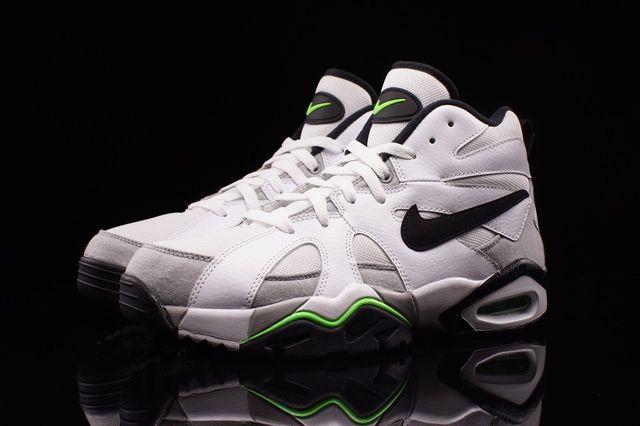 Nike Air Diamond Fury 96 White Voltage Green 2