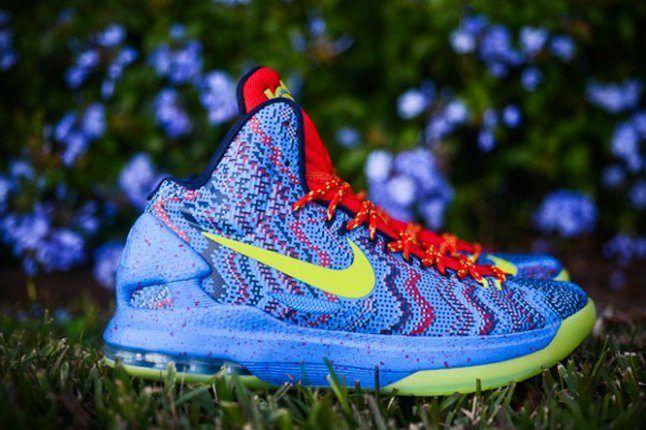 Nike Kd V Christmas Profile 1