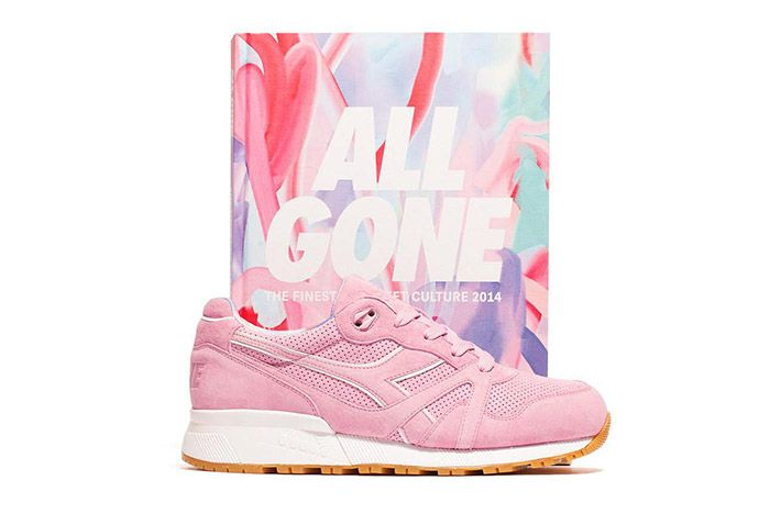 La Mjc Diadora N9000 All Gone 2014 Pink 5