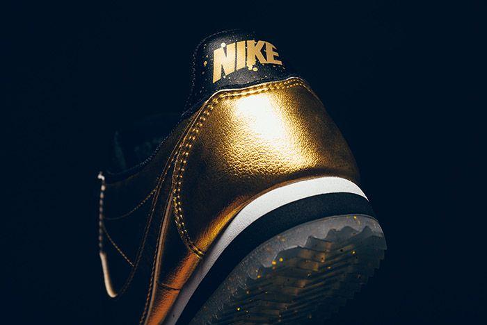 Nike Classic Cortez Metallic Gold 2