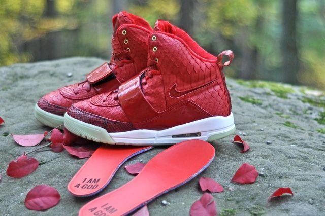 Jbf Customs Nike Air Yeezy 1 Red October 5