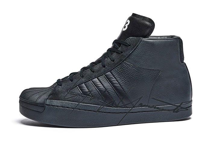 Adidas Y3 Yohji Pro Side Black