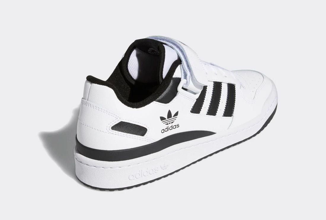 adidas Forum Low White/Black