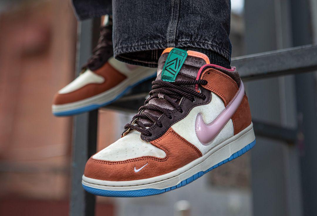 Social Status x Nike Dunk 'Chocolate Milk' and 'Strawberry Milk' sneaker freaker