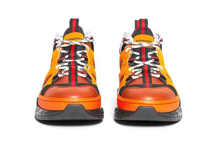 Burberry Union Sneaker Orange Front