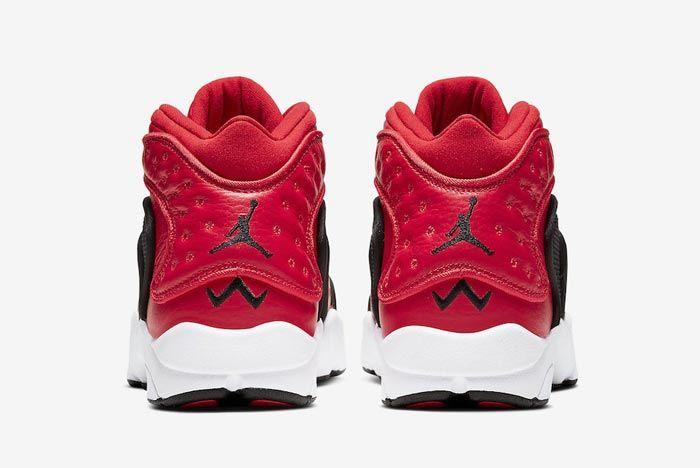 Air Jordan Womens Og Red Black White Heels