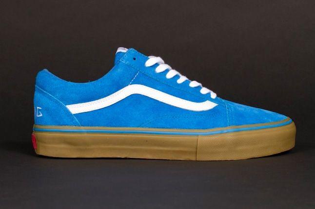 Odd Future Vans Syndicate Oldskool Pro Blue Profile 1